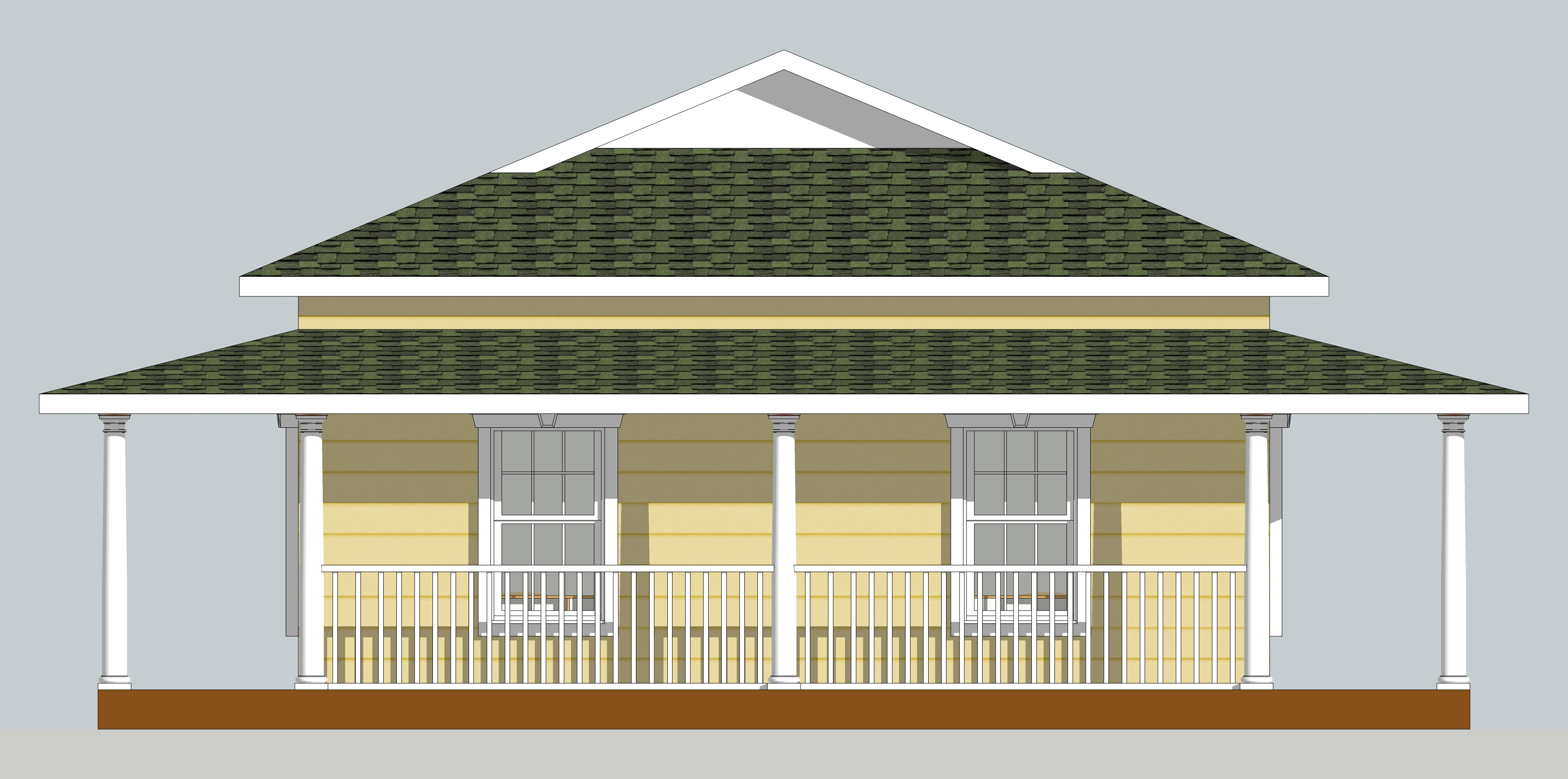 N Home Elevation Usa : Guest house north elevation news from sitagu austin
